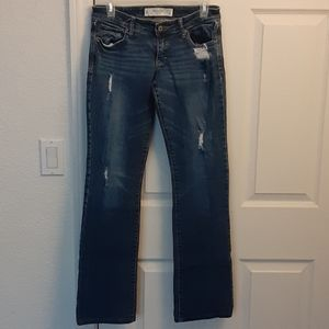 👖 ABERCROMBIE & FITCH WOMENS BOOT CUT JEANS